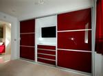 необикновенни червени гардероби скъпи