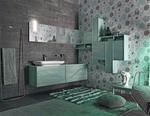 мебели за баня с висококачествени двукомпонентни лакове модернистични