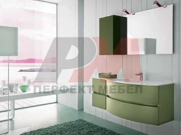 шкафове за баня по проект солидни