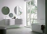 солидни  шкафове за баня по проект