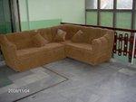 salonu ile lüks kanepe