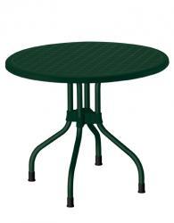 Кръгла маса в зелено