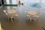 Пластмасови маси за басейн, с разнообразни размери