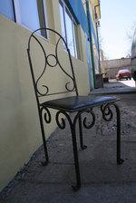 изработка на стол от ковано желязо