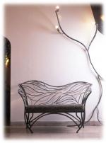 Проектиране и изработка на дивани от ковано желязо