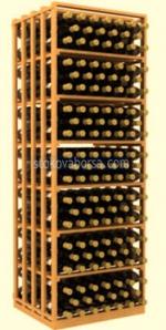 Поръчково изработване на стелажи от дърво за съхранение на вино