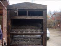 Шкаф от дърво масив по поръчка