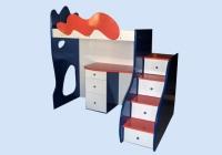 Мебели за детска стая от МДФ