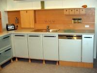 Модерни мебели за ъглови кухни