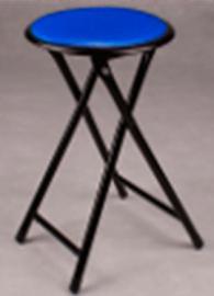 Сгъваем стол със стоманени крака