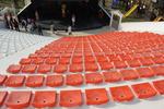 Пластмасови седалки с и без облегалка