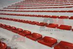 Седалка за стадиони на склад
