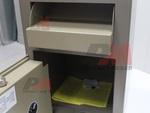 Метален депозитен сейф за магазин, комбиниран