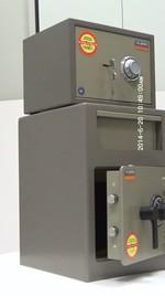 Метални депозитни сейфове за неподвижно закрепване към стена