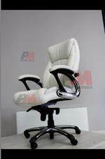 Индивидуални поръчки на бял директорски стол