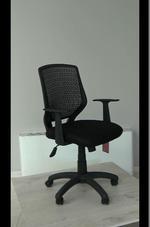 черни евтини офис столове  с гаранция